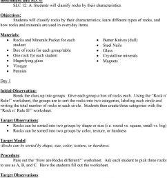 Rocks and Minerals 5 th Grade Kelly Krupa - PDF Free Download [ 1302 x 960 Pixel ]