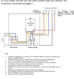 2a switching service supplying customer owned contactor in accordance with figure 1 1  [ 960 x 1507 Pixel ]
