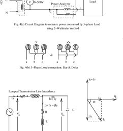 4 a circuit diagram to measure power consumed by 3 phase load using wattmeter [ 960 x 1559 Pixel ]
