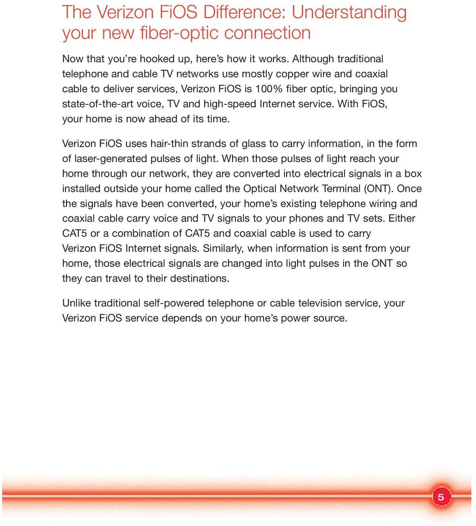 hight resolution of with fios your home is now ahead of its