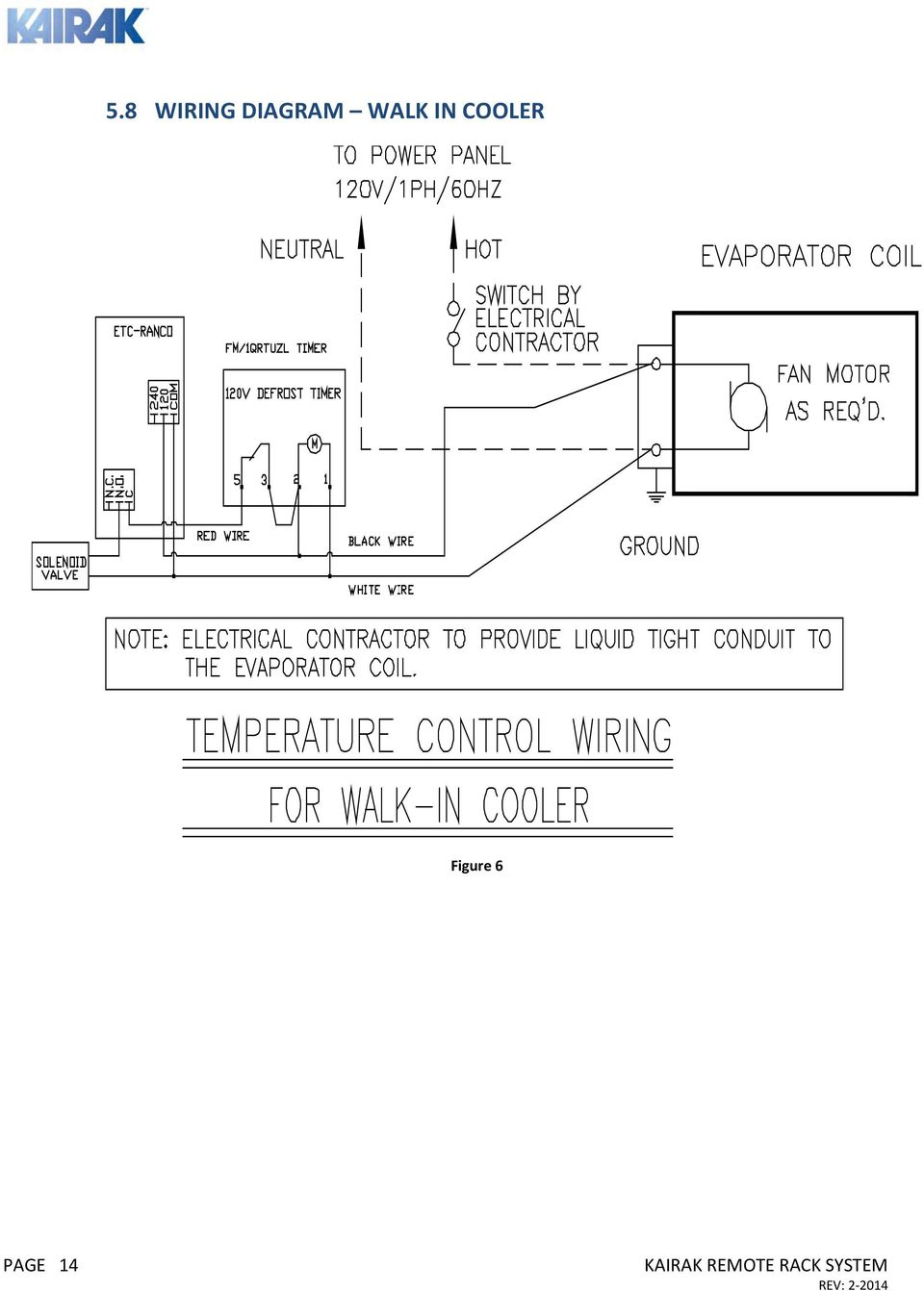 hight resolution of  basic remote rack system owners manual installation operations on commercial air handler diagram