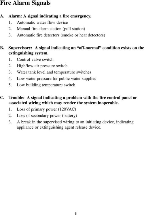 small resolution of  potter electric sprinkler monitoring training manual pdf on commercial security alarm wiring diagram