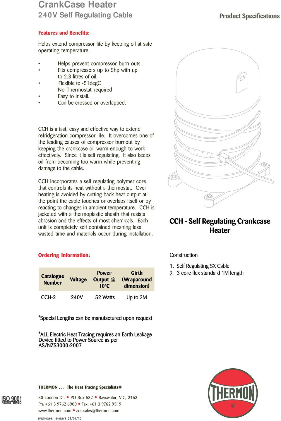 hight resolution of cch is a fast easy and effective way to extend refridgeration compressor life