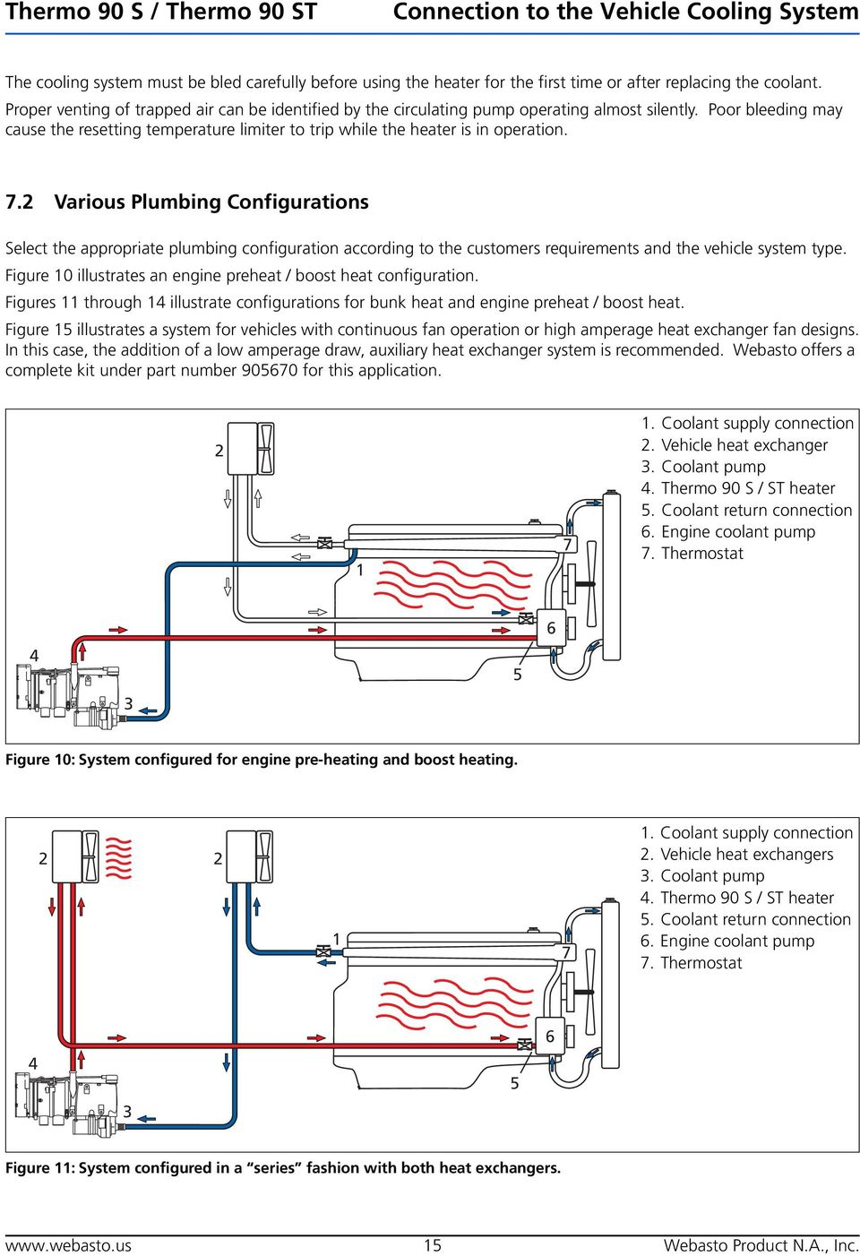 medium resolution of various plumbing configurations select the appropriate plumbing configuration according to the customers requirements and the