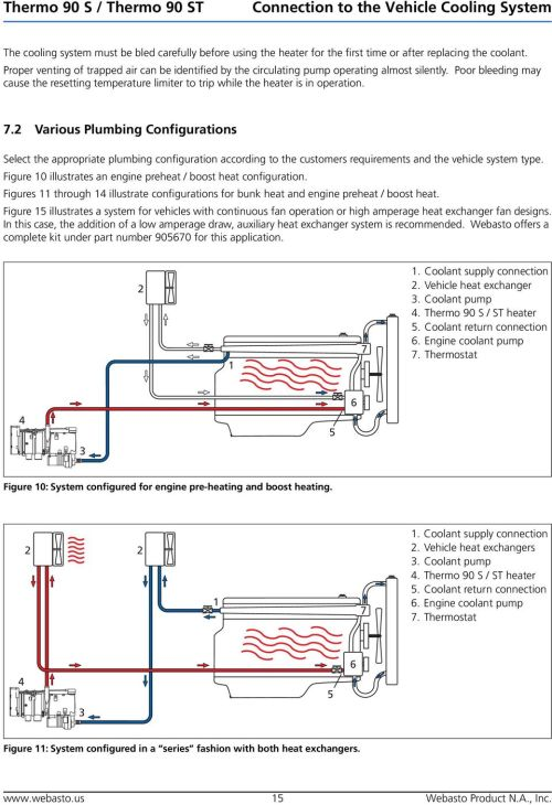 small resolution of various plumbing configurations select the appropriate plumbing configuration according to the customers requirements and the