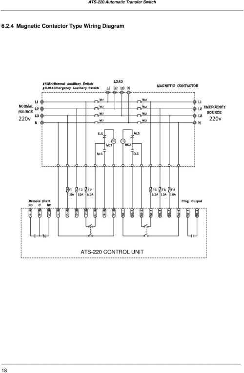 small resolution of 19 6 3 3p 380v connecting wire diagram mccb type wiring diagram motor normal phase n emergency phase n ats 220 control unit 19