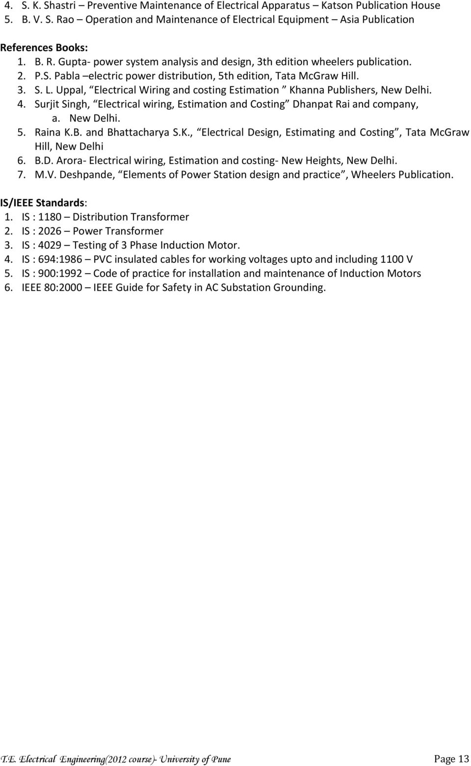 hight resolution of surjit singh electrical wiring estimation and costing dhanpat rai and company a