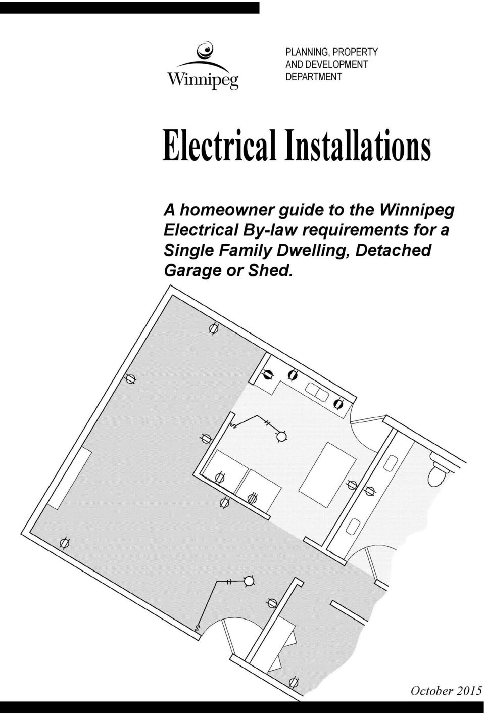 hight resolution of electrical plan guide
