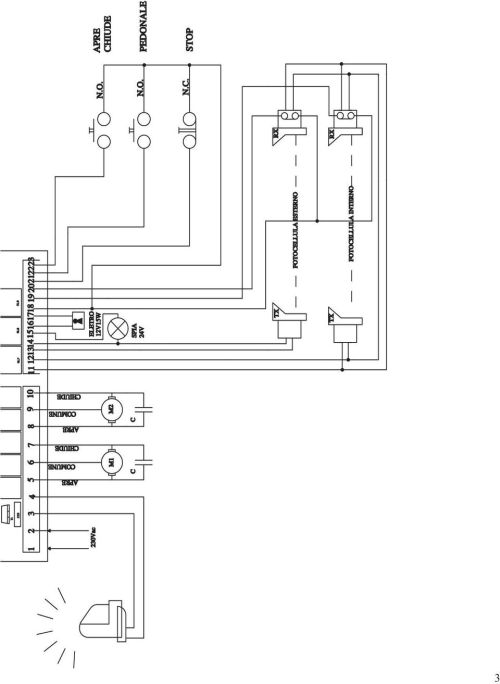small resolution of d755m control card for two single phase motors 220 230 vac tarjeta cm wiring diagrams 220