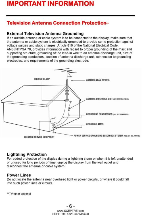 small resolution of article 810 of the national electrical code ansi nfpsa 70 provides information with