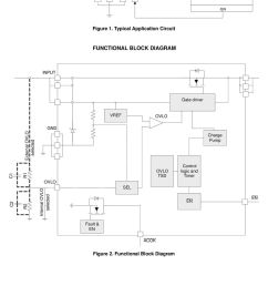 typical application circuit functional block diagram input gate driver vref external [ 960 x 1436 Pixel ]