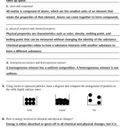 Matter Properties And Changes Worksheet - Worksheet List [ 1491 x 960 Pixel ]