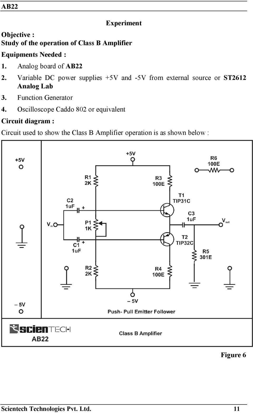 medium resolution of variable dc power supplies 5v and 5v from external source or st2612 analog lab