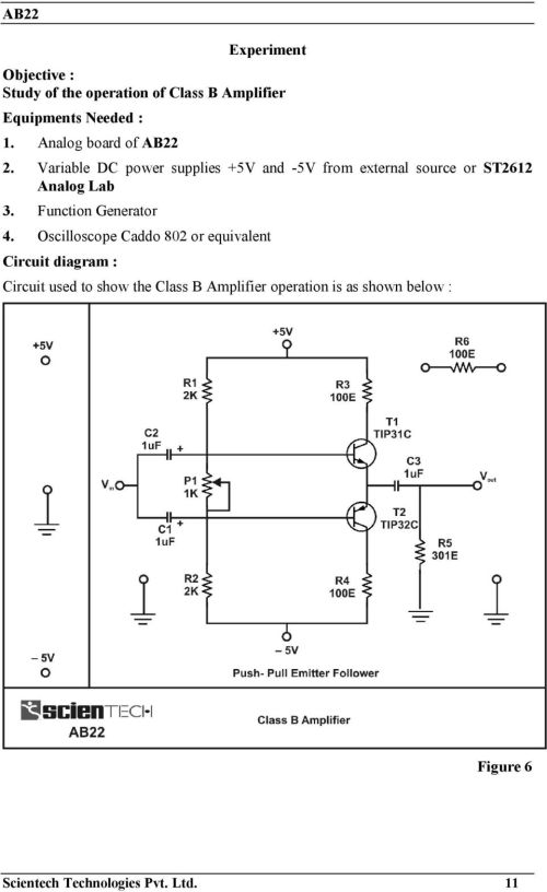 small resolution of variable dc power supplies 5v and 5v from external source or st2612 analog lab