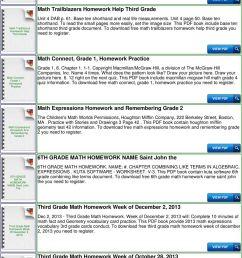 Go Math Homework Grade 4 Answers - PDF Free Download [ 1378 x 960 Pixel ]