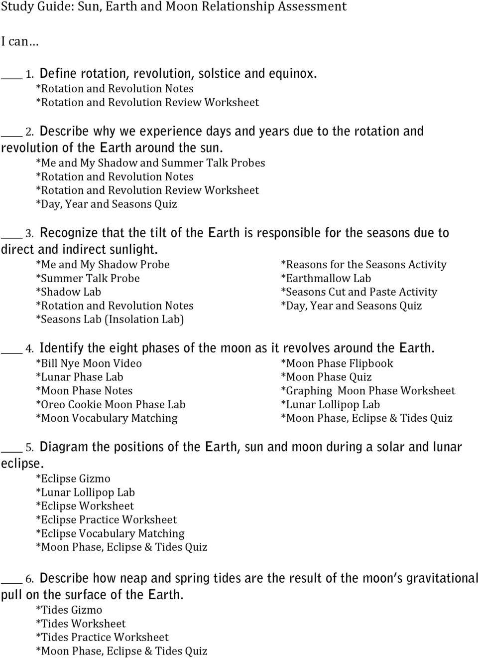 hight resolution of Study Guide: Sun
