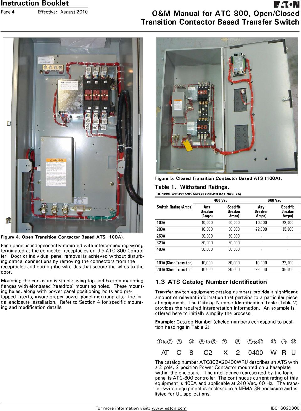 hight resolution of eaton atc 800 wiring diagram wiring diagrams secondo u0026 m manual for atc 800
