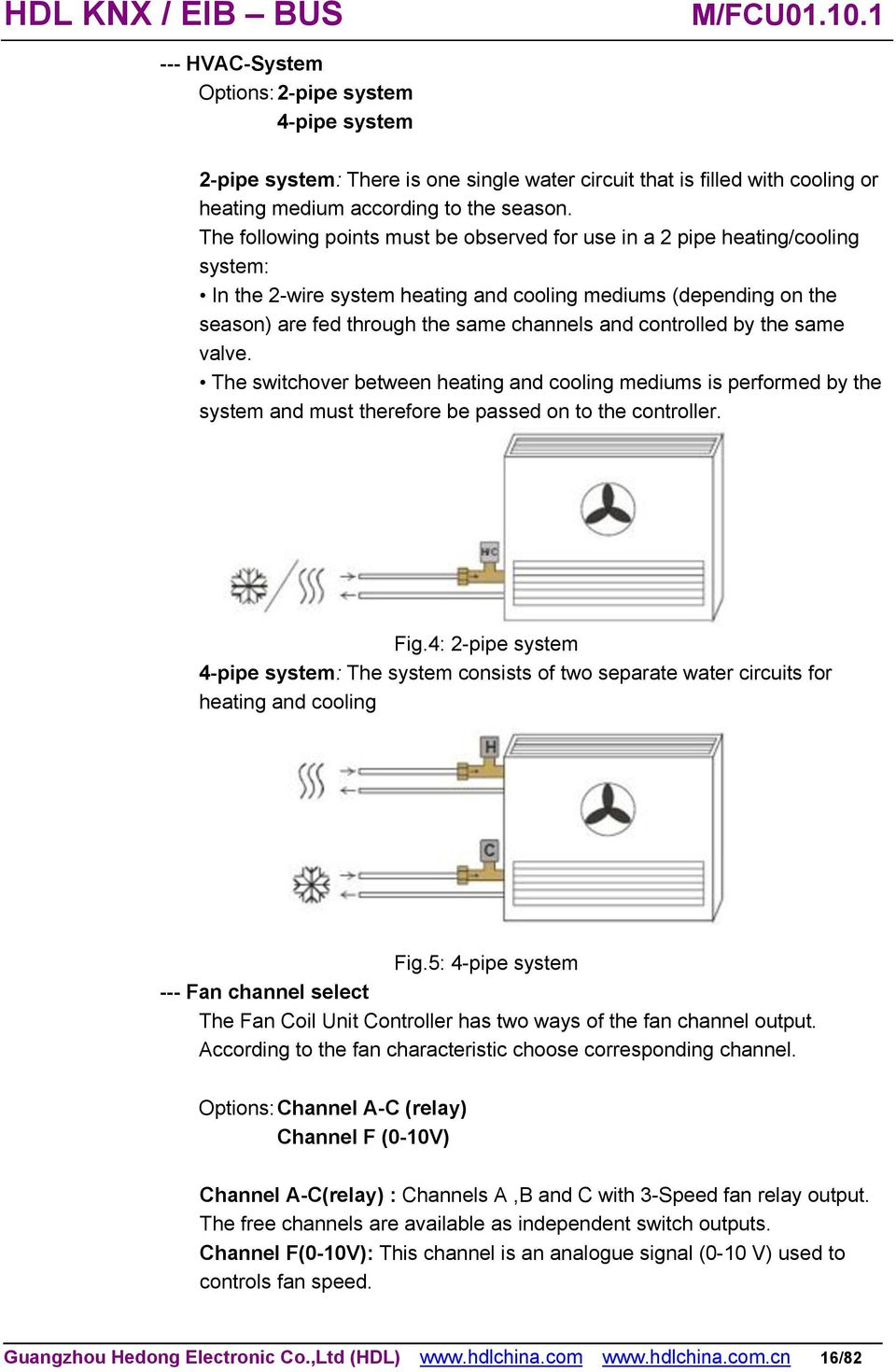 fcu thermostat wiring diagram honeywell au falcon alternator two pipe fan coil system - best imageforms.co
