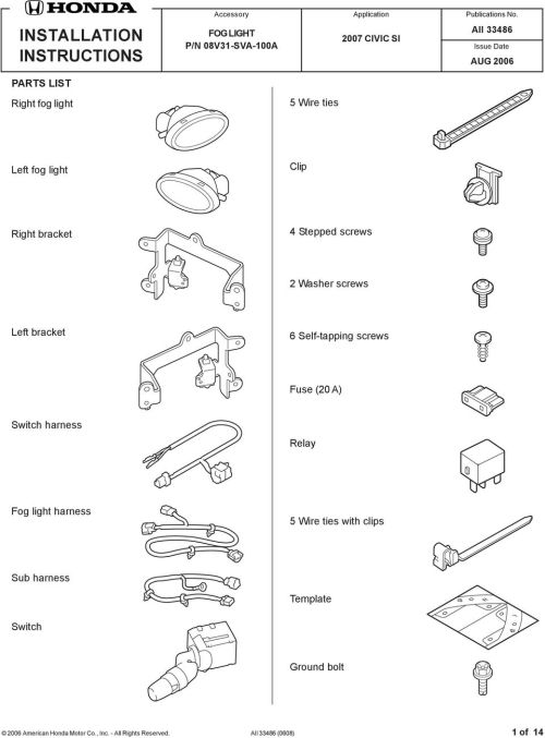 small resolution of clip right bracket 4 stepped screws 2 washer screws left bracket 6 self tapping screws