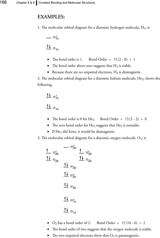 medium resolution of  the bond order is 0 for e 2 bond order 1 2 13 the molecular orbital diagram