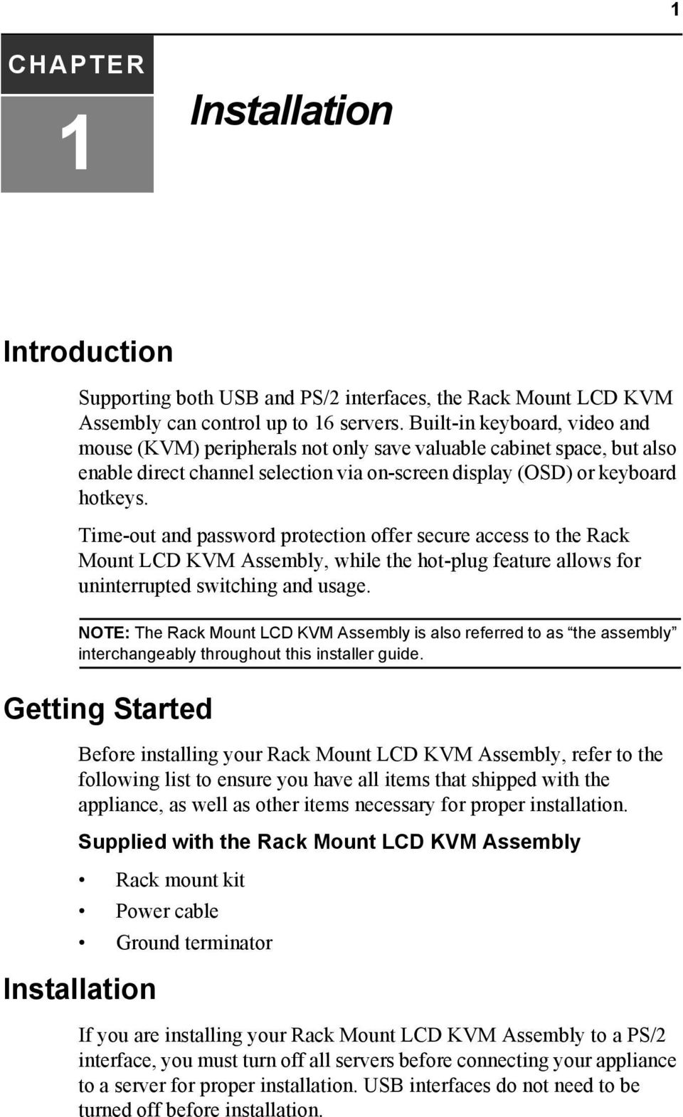 hight resolution of time out and password protection offer secure access to the rack mount lcd kvm assembly