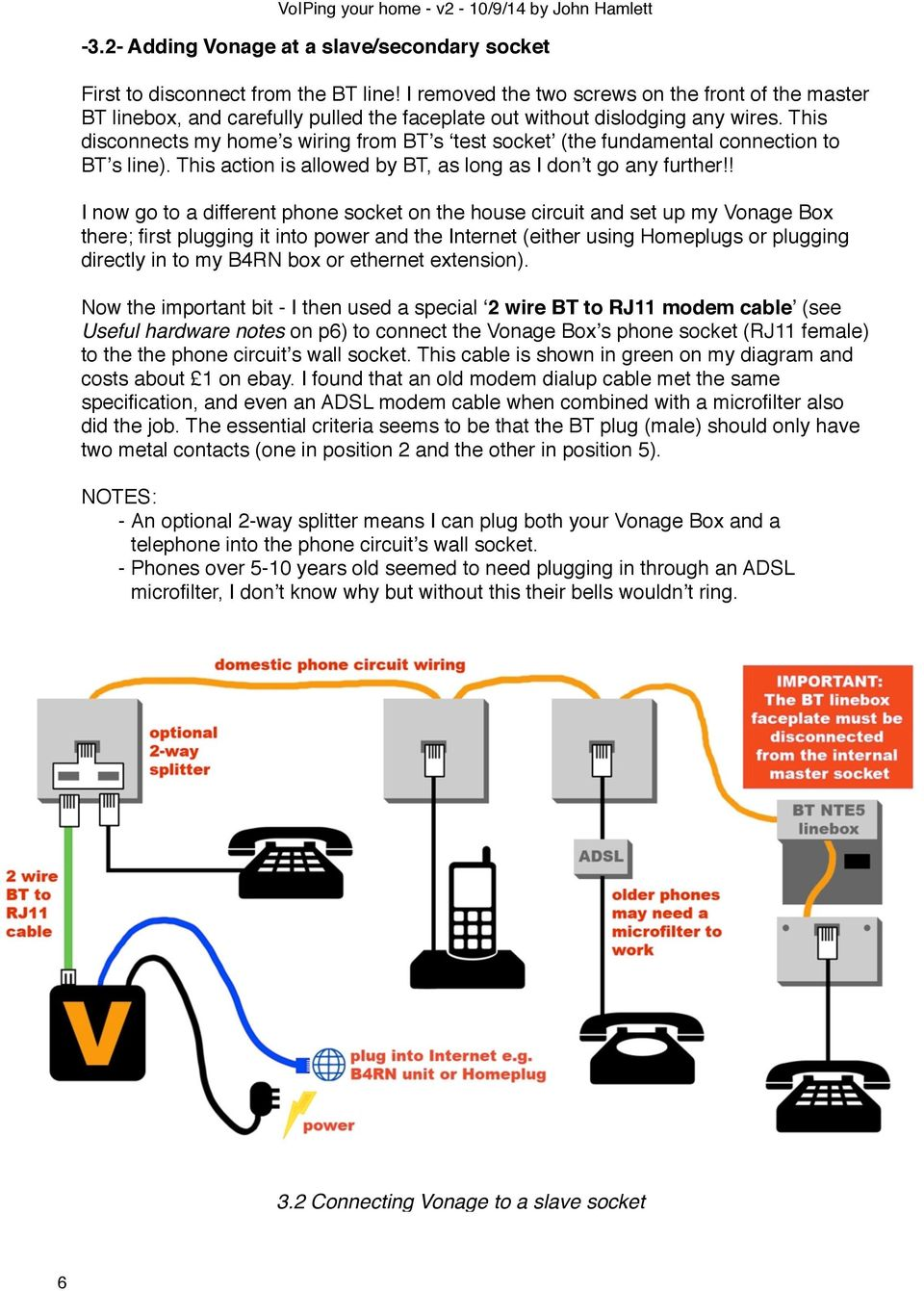 hight resolution of an unofficial guide to setting up vonage voip on b4rn and notes on vonage wiring diagram