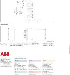 trip circuit supervision relay type rxtcs pdf on shunt trip coil diagram abb  [ 960 x 1185 Pixel ]