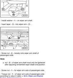 screw nut 1 for wiper arm axle of passengers side  [ 960 x 1523 Pixel ]