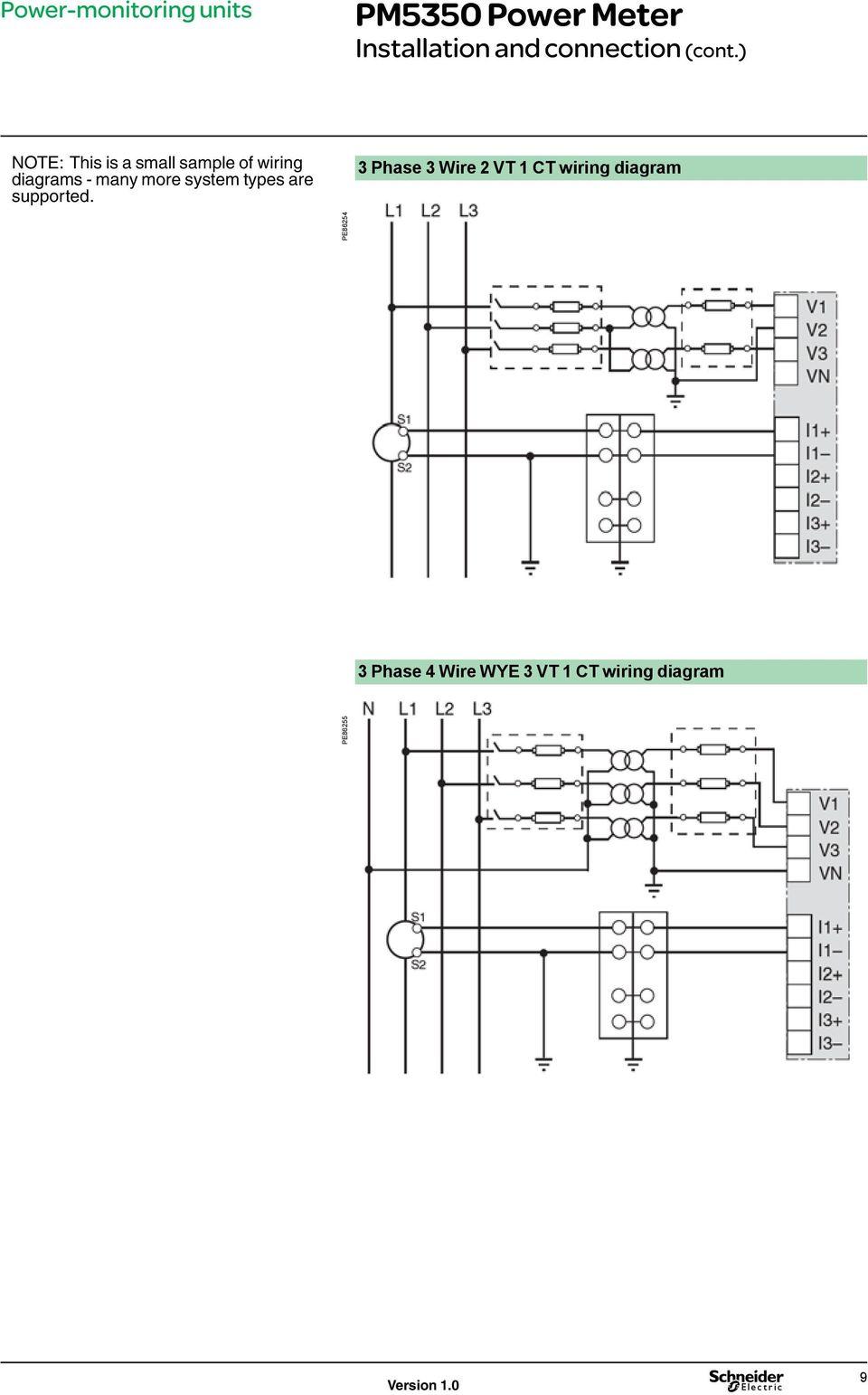 medium resolution of wye vt wiring diagram wiring diagrams wni wye vt wiring diagram