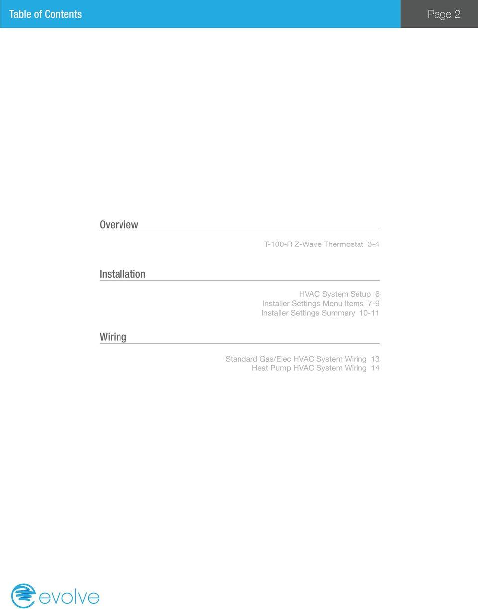 medium resolution of items 7 9 installer settings summary 10 11 wiring standard