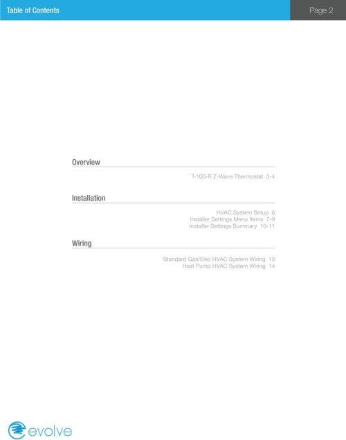 small resolution of items 7 9 installer settings summary 10 11 wiring standard