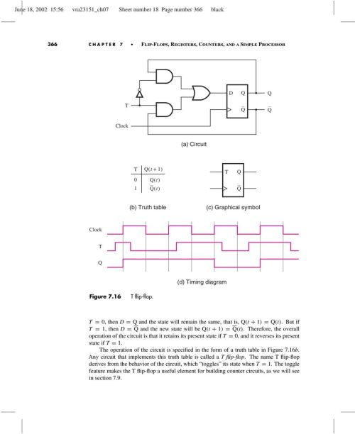 small resolution of therefore the overall operation of the circuit is that it retains its present state if
