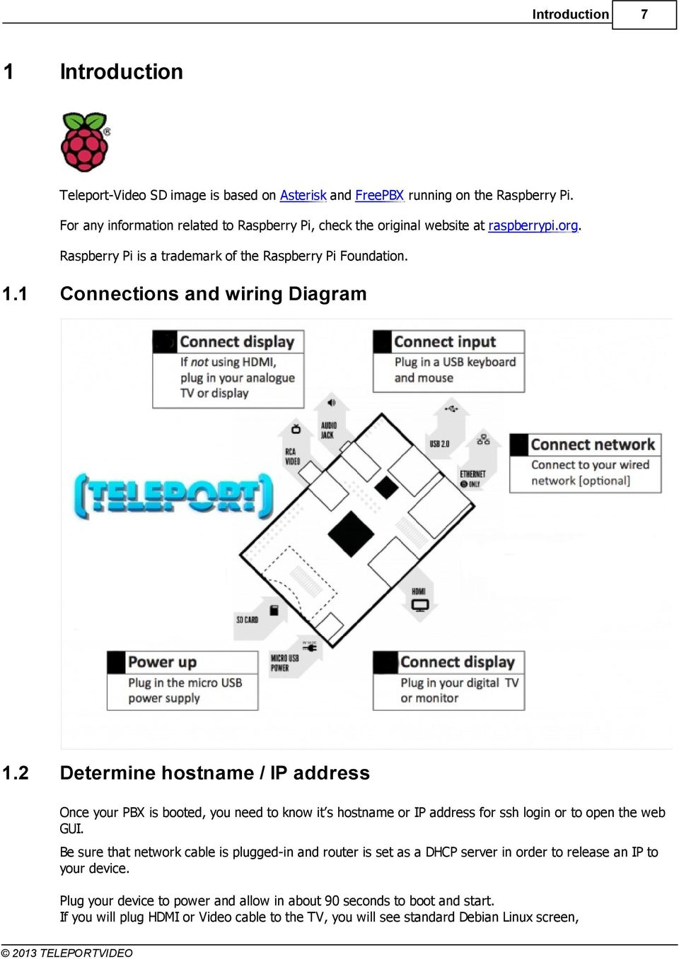 medium resolution of 1 connections and wiring diagram 1 2 determine hostname ip address once your pbx is booted