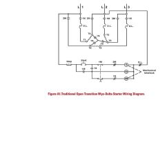Wye Delta Connection Wiring Diagram 1992 Honda Accord Stereo And Solid State Starter Application Guide Pdf 18 Transition