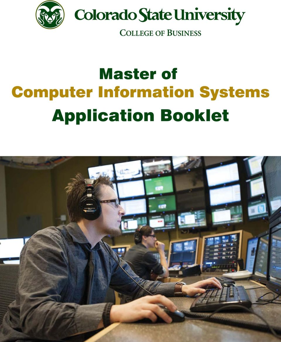 Master Of Computer Information Systems Application