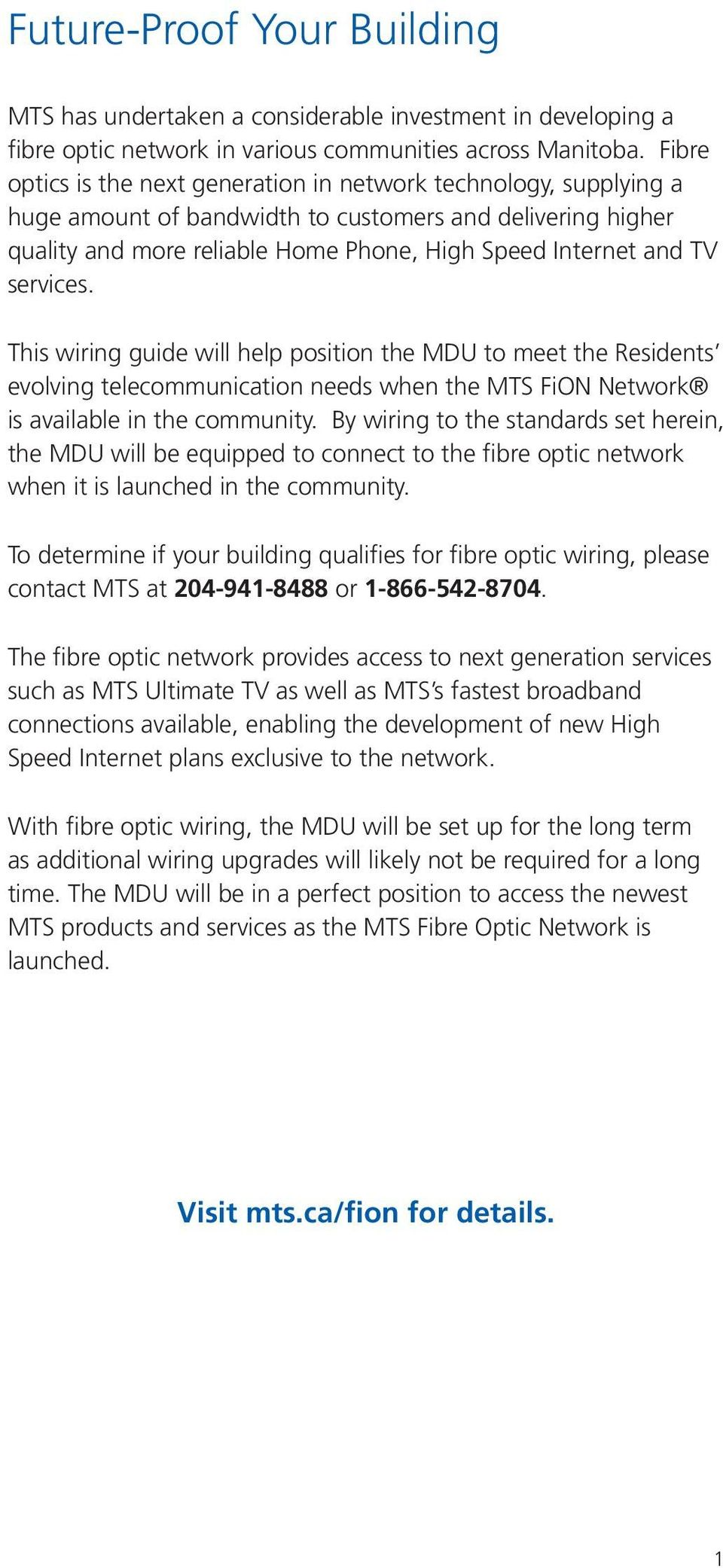 medium resolution of this wiring guide will help position the mdu to meet the residents evolving telecommunication
