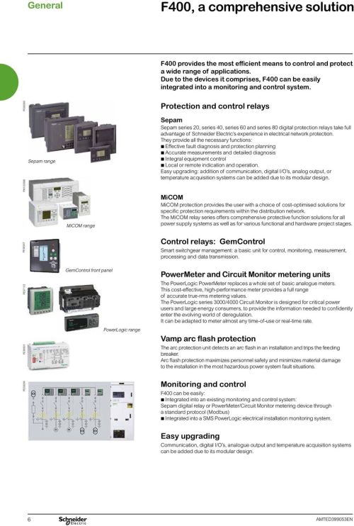 small resolution of pe58204 pe90501 pe57123 pe90347 pm102898 pe60300 sepam range micom range gemcontrol front panel powerlogic range protection