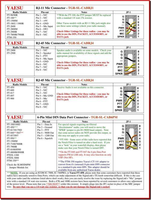 small resolution of pin 6 sw1 pin 7 n c pin 8 n c yaesu rj