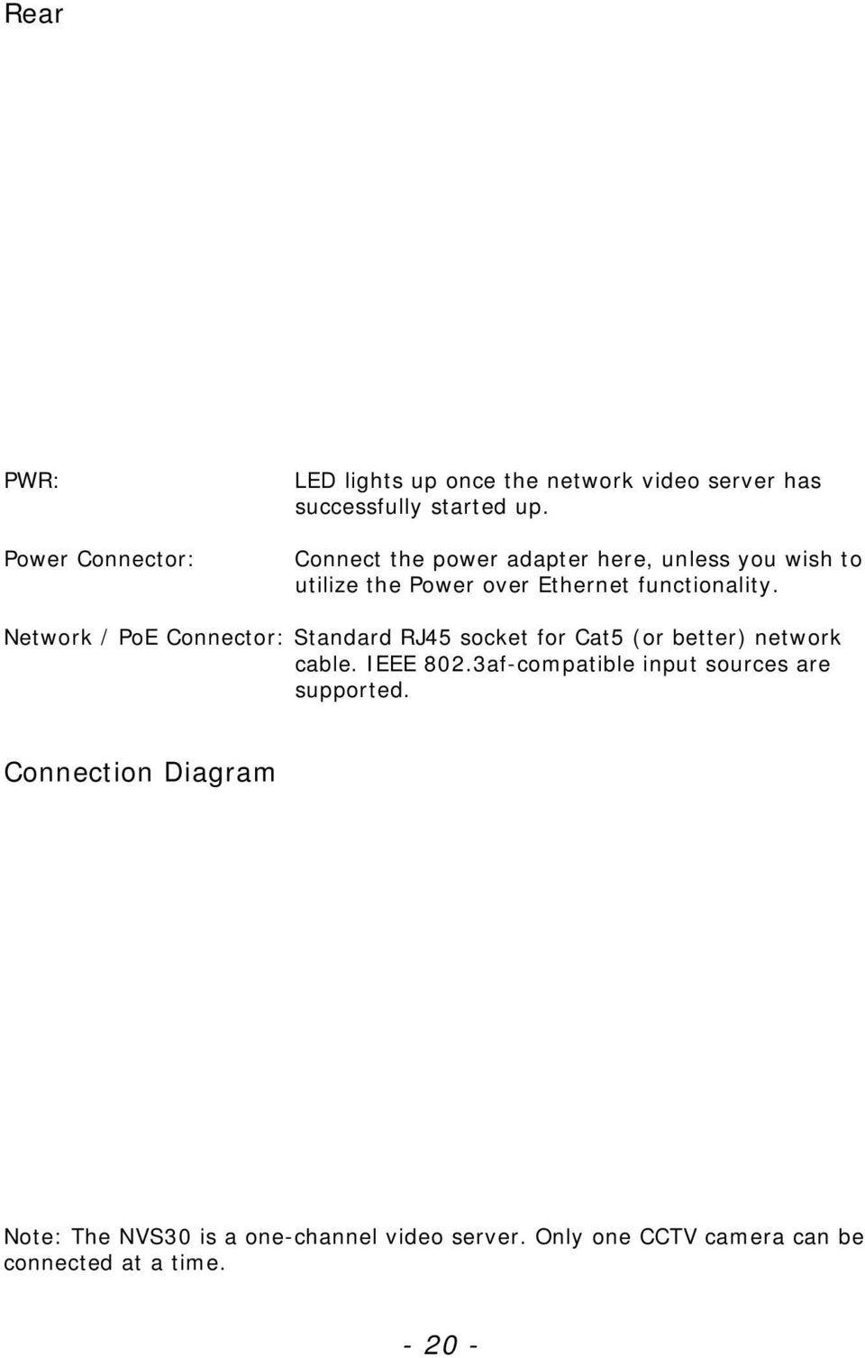 medium resolution of network poe connector standard rj45 socket for cat5 or better network cable