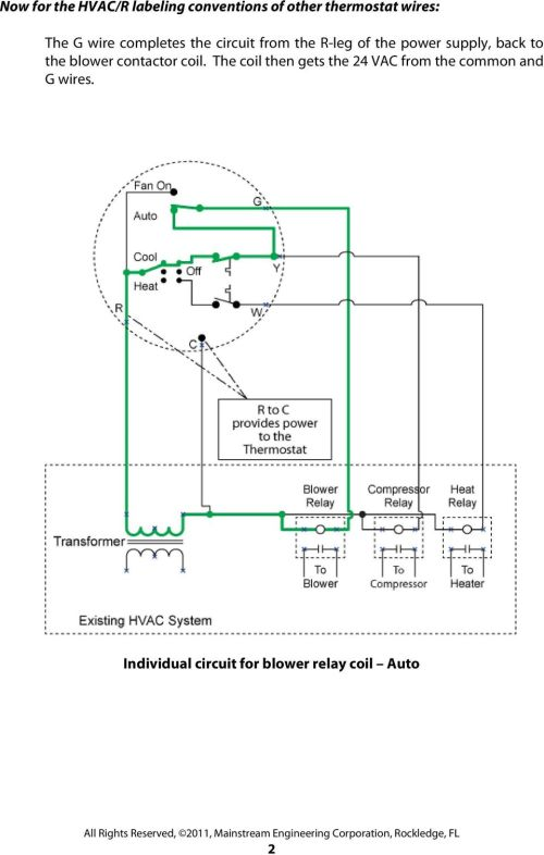small resolution of back to the blower contactor coil