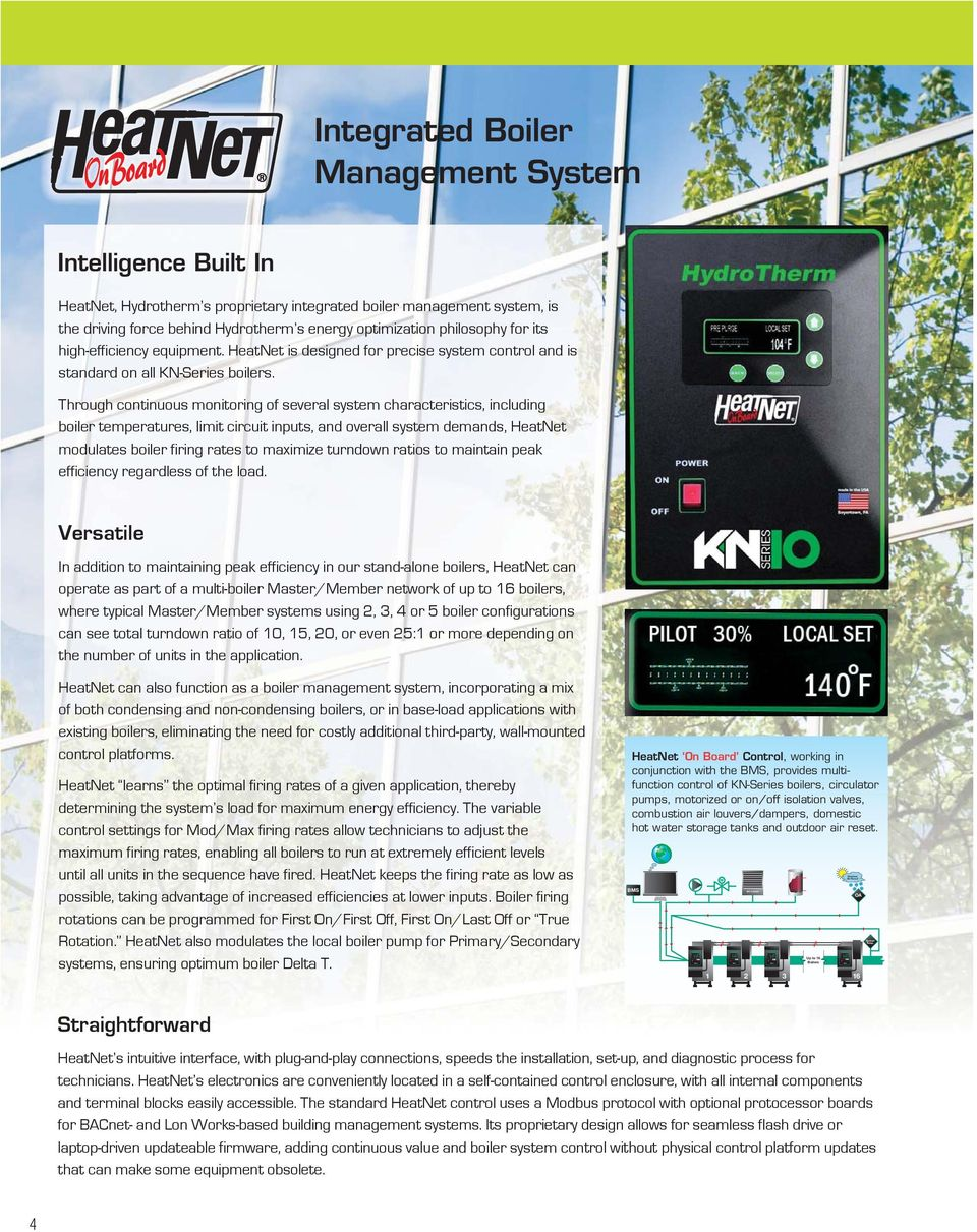 hight resolution of philosophy for its high efficiency equipment heatnet is designed for precise system control and