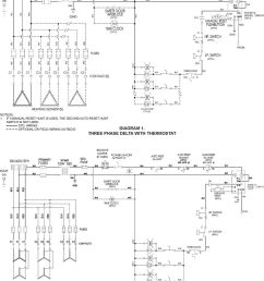 wiring optional or field wiring as req d diagram three phase delta with thermostat note [ 960 x 1358 Pixel ]
