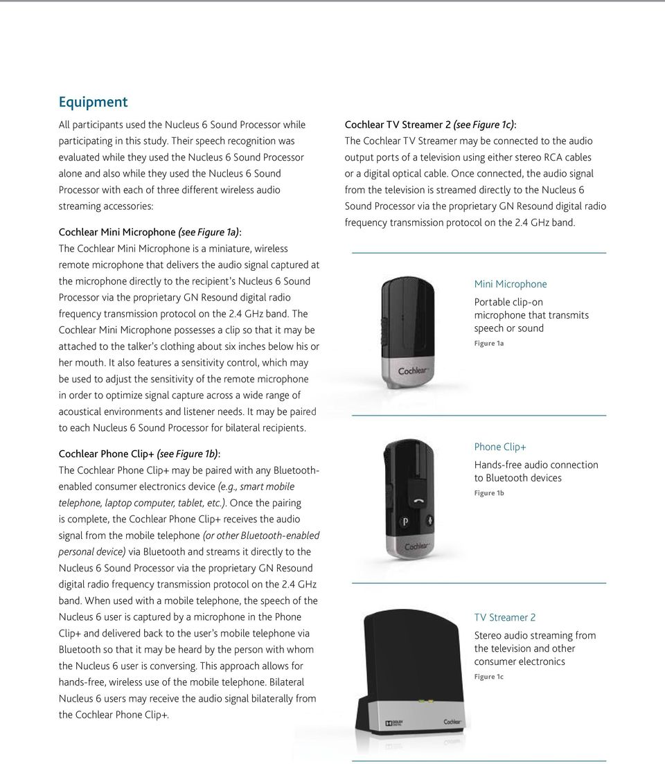 hight resolution of accessories cochlear mini microphone see figure 1a the cochlear mini microphone is