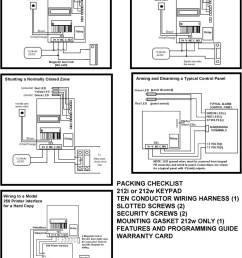 interface for a hard copy packing checklist 212i or 212w keypad ten conductor wiring harness  [ 960 x 1307 Pixel ]