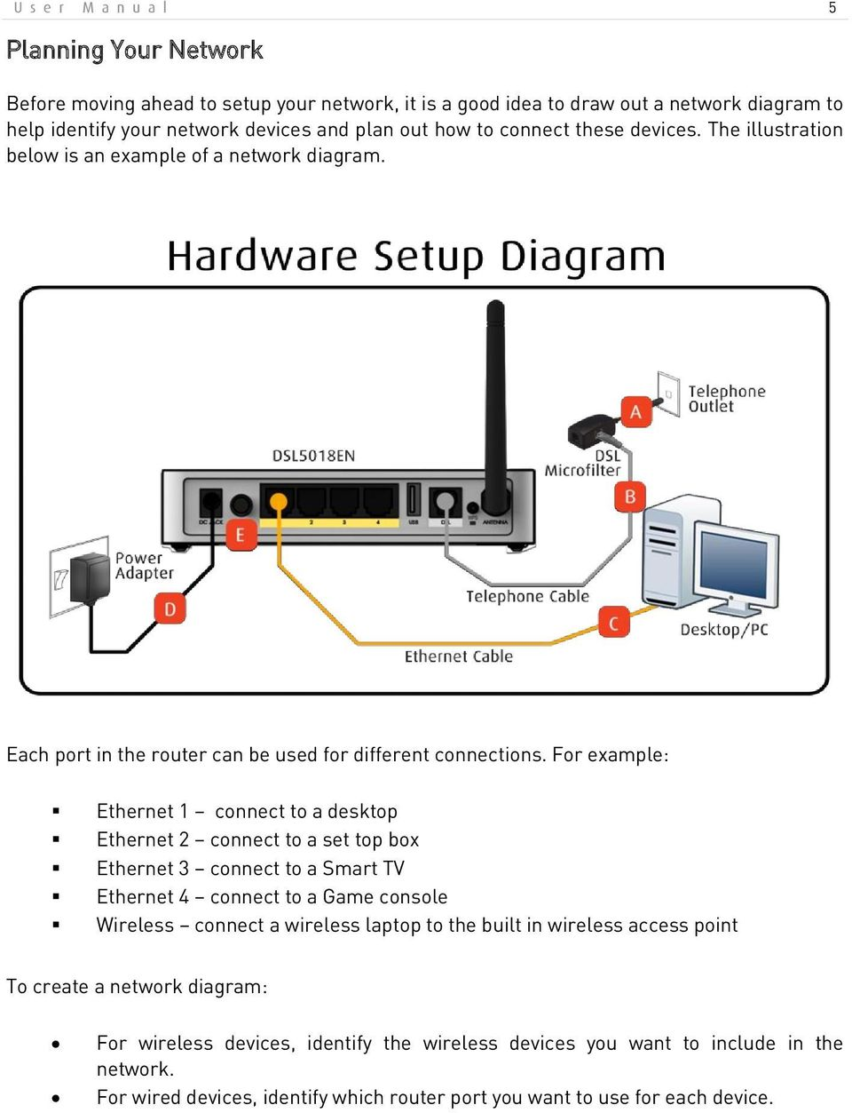 hight resolution of for example ethernet 1 connect to a desktop ethernet 2 connect to a set top