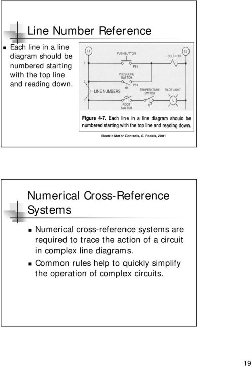 small resolution of numerical cross reference systems numerical cross reference systems are required