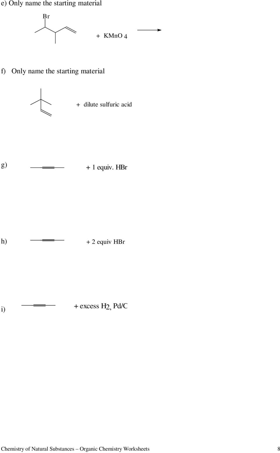 medium resolution of Worksheets for Organic Chemistry - PDF Free Download