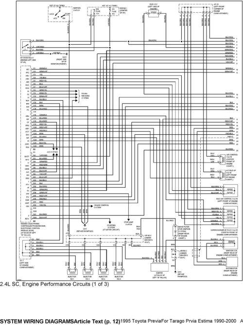 small resolution of toyota previa headlight wiring diagram free downloads wiring diagram 91 previa headlight circuit diagram