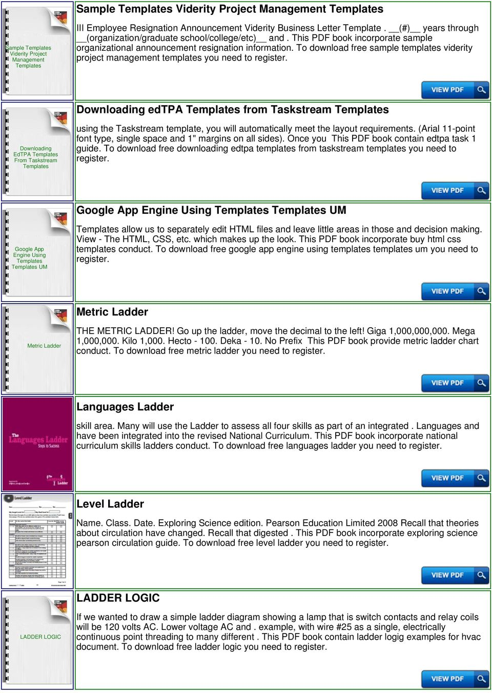 hight resolution of to download free sample templates viderity project management templates you need to downloading edtpa templates from