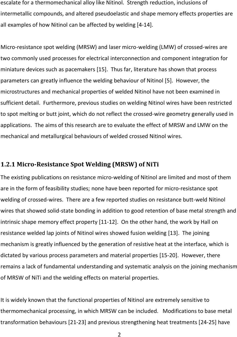 hight resolution of micro resistance spot welding mrsw and laser micro welding lmw
